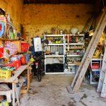 Garage en gereedschapsschuur