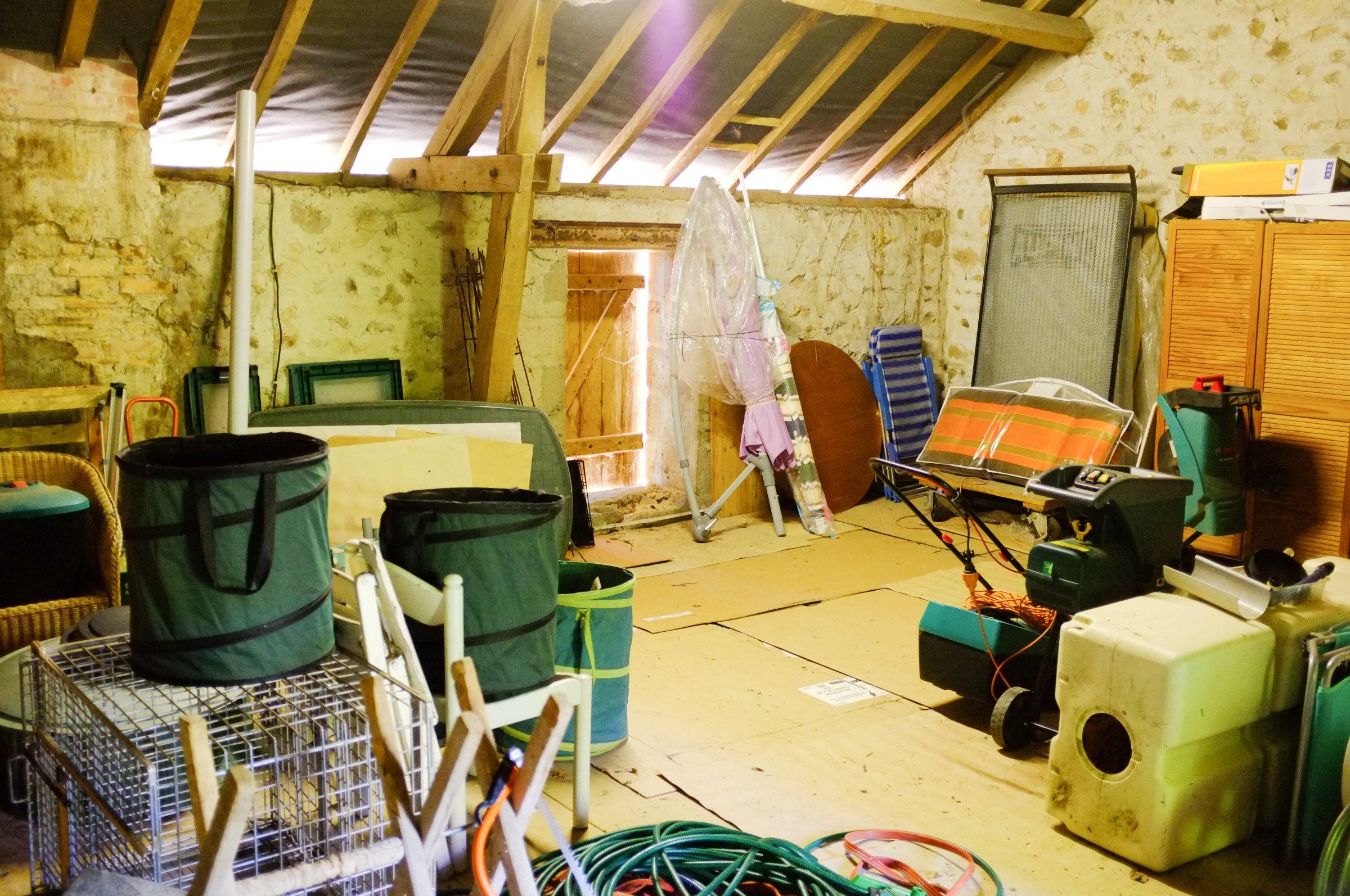 Zolder: ruimte voor nieuwe kamer of opslag