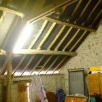 Zolder recent nieuw dak